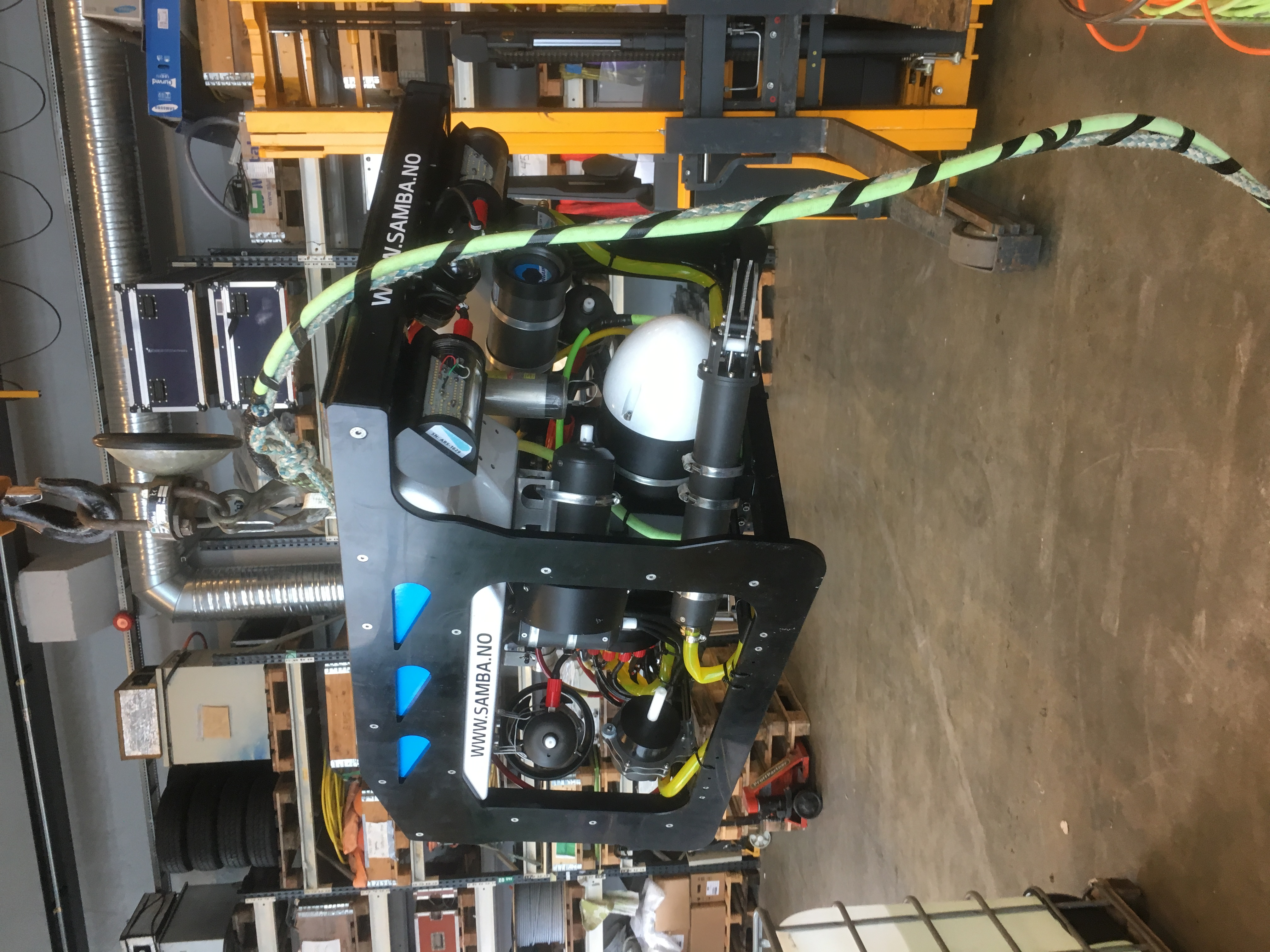2017 600msw MINI ROV 92 delivered to Samba AS
