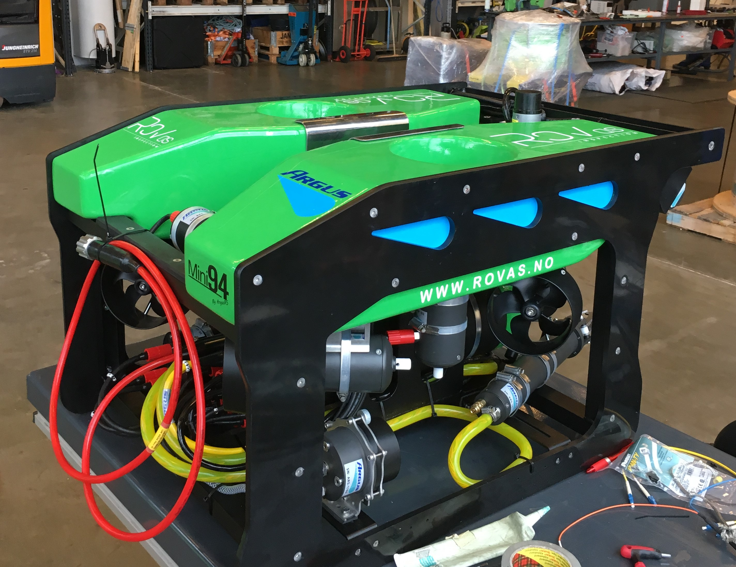2017 Mini 94 delivered to ROV AS